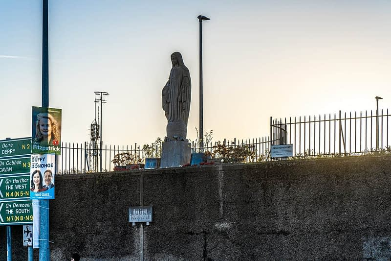 MARIAN-STATUE-INSTALLED-IN-1953-AT-BROADSTONE-STATION-159823-1