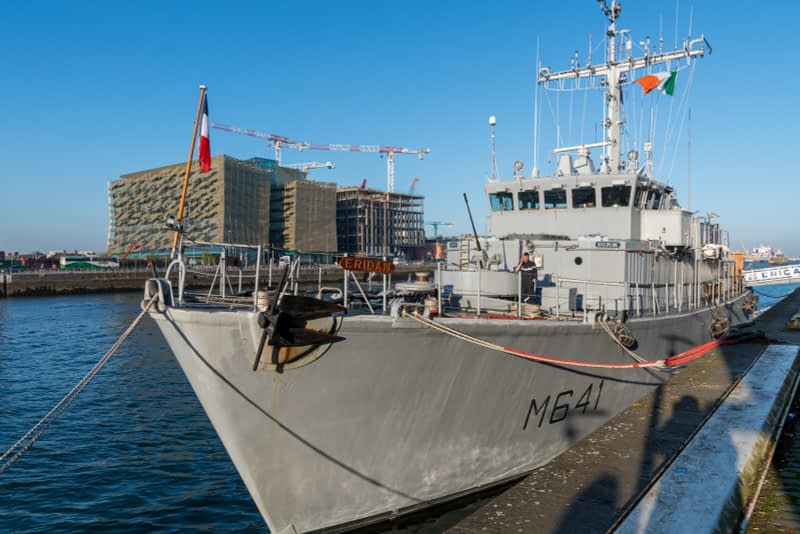 ERIDAN-CLASS-M641-FRENCH-NAVY-VISIT-DUBLIN-IN-APRIL-2017-160327-1