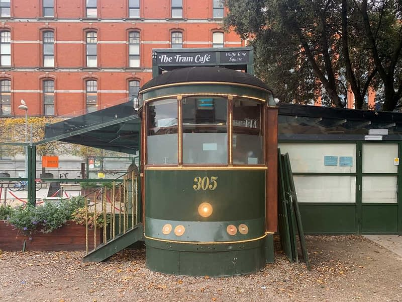 THE TRAM CAFE AT WOLFE TONE PARK